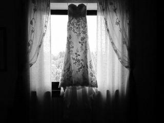 le nozze di Christina e Florent 1