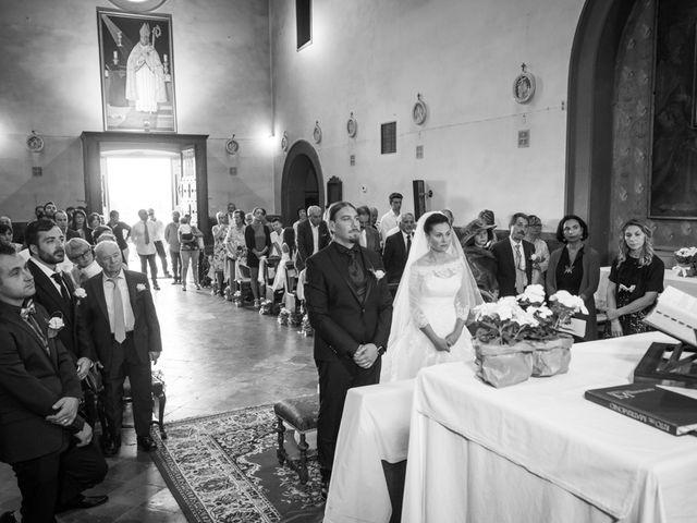 Il matrimonio di Matteo e Elena a Montelupo Fiorentino, Firenze 49