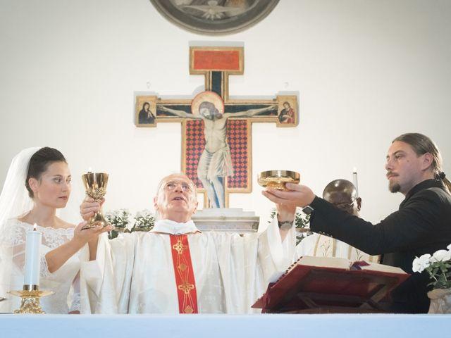 Il matrimonio di Matteo e Elena a Montelupo Fiorentino, Firenze 52