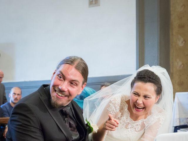 Il matrimonio di Matteo e Elena a Montelupo Fiorentino, Firenze 53