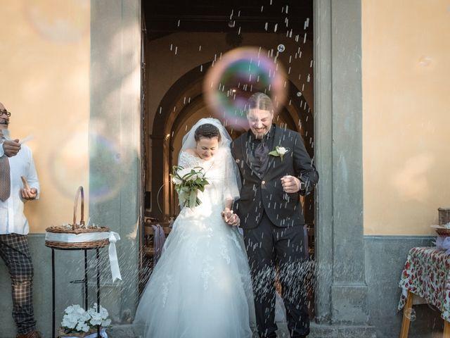 Il matrimonio di Matteo e Elena a Montelupo Fiorentino, Firenze 57
