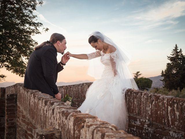 Il matrimonio di Matteo e Elena a Montelupo Fiorentino, Firenze 69