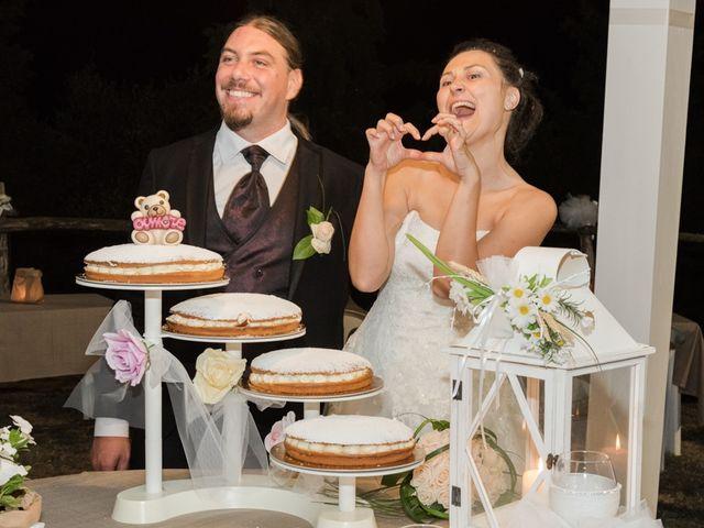 Il matrimonio di Matteo e Elena a Montelupo Fiorentino, Firenze 80