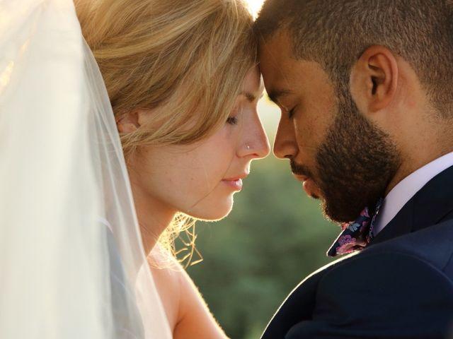 le nozze di Christina e Florent