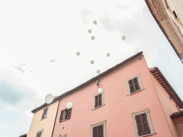 Il matrimonio di Daniele e Federica a Massa Martana, Perugia 32