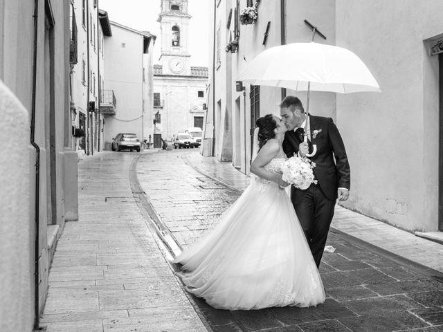 Il matrimonio di Daniele e Federica a Massa Martana, Perugia 33
