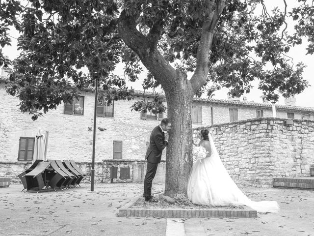Il matrimonio di Daniele e Federica a Massa Martana, Perugia 36