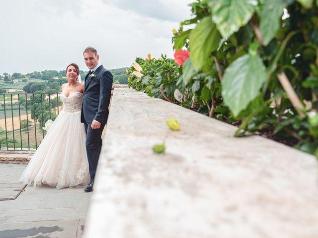 Il matrimonio di Daniele e Federica a Massa Martana, Perugia 39