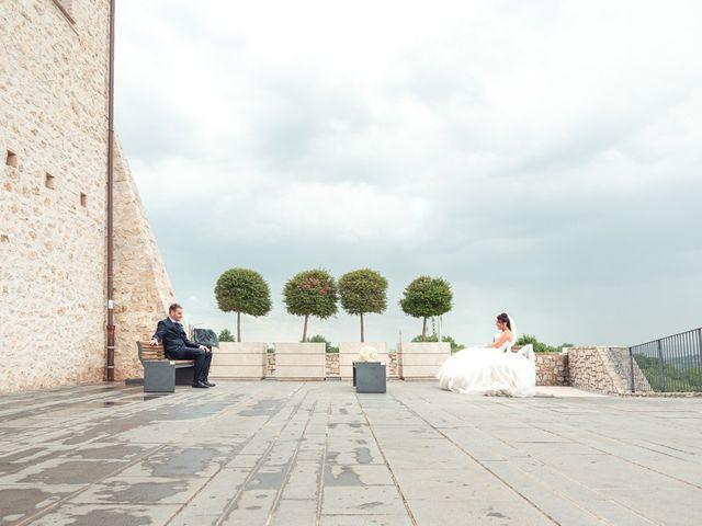 Il matrimonio di Daniele e Federica a Massa Martana, Perugia 41