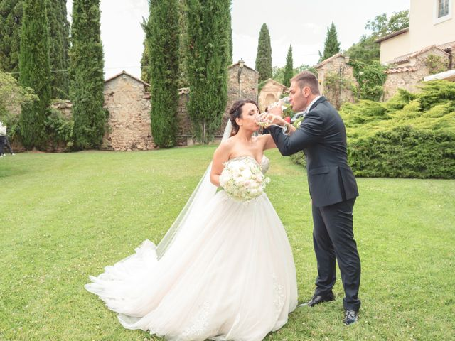 Il matrimonio di Daniele e Federica a Massa Martana, Perugia 42