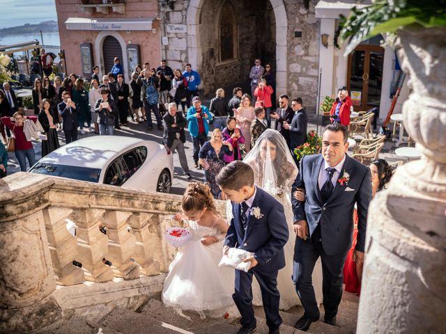 Il matrimonio di Dario e Morena a Taormina, Messina 5