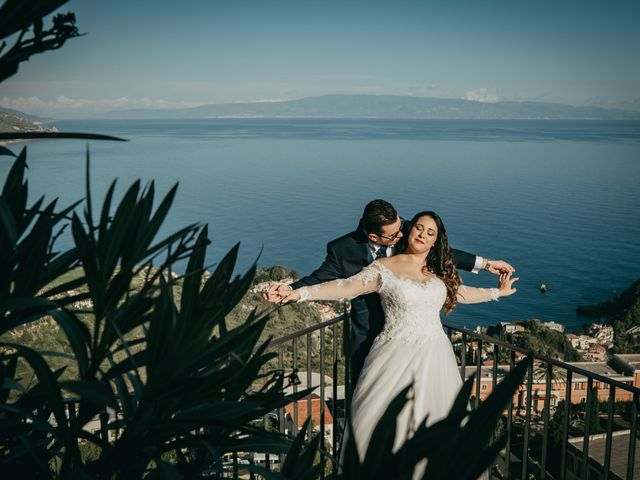 Il matrimonio di Dario e Morena a Taormina, Messina 15