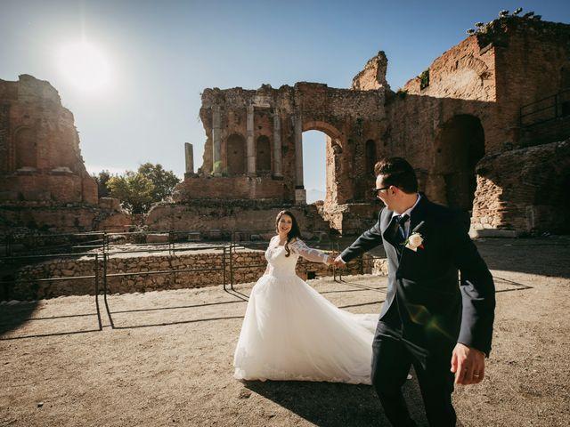 Il matrimonio di Dario e Morena a Taormina, Messina 18