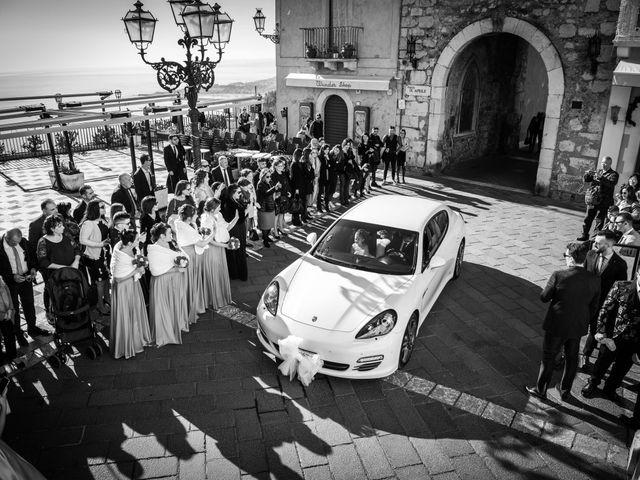 Il matrimonio di Dario e Morena a Taormina, Messina 23