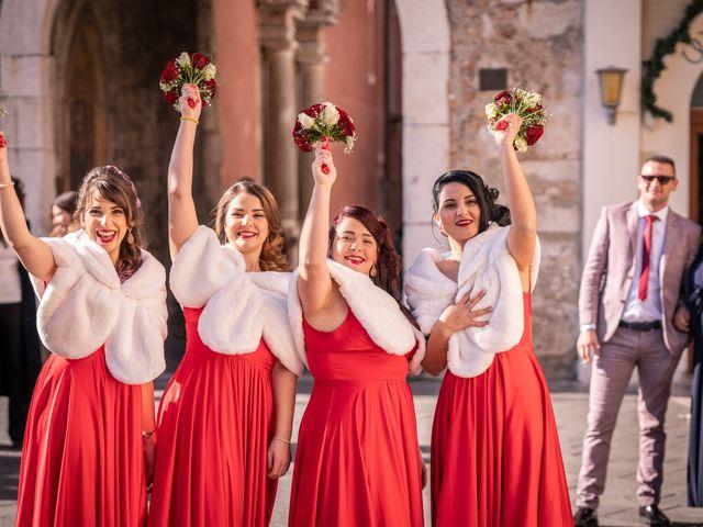 Il matrimonio di Dario e Morena a Taormina, Messina 33