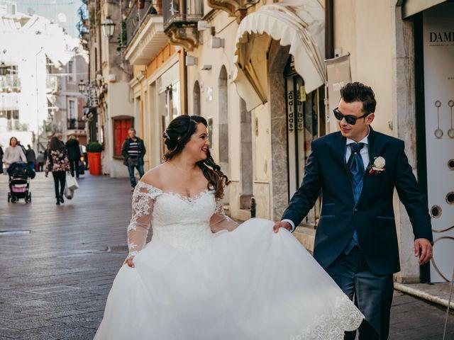 Il matrimonio di Dario e Morena a Taormina, Messina 36