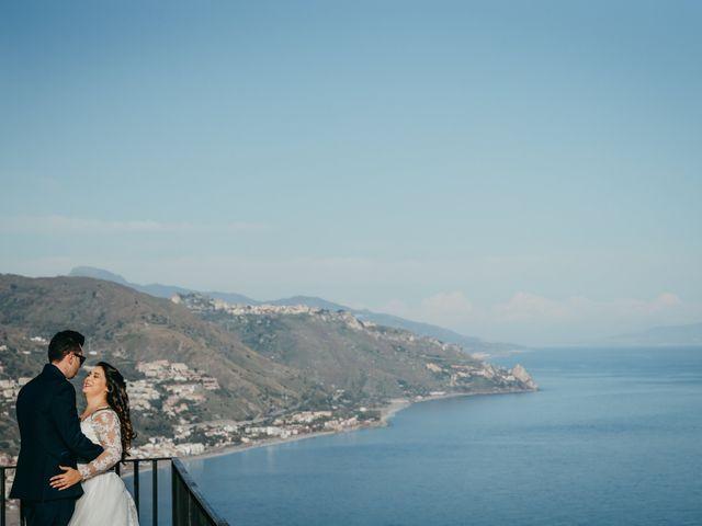 Il matrimonio di Dario e Morena a Taormina, Messina 38