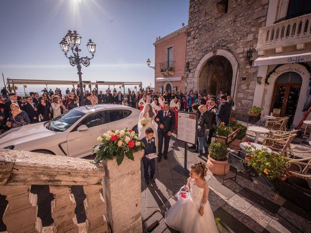 Il matrimonio di Dario e Morena a Taormina, Messina 81