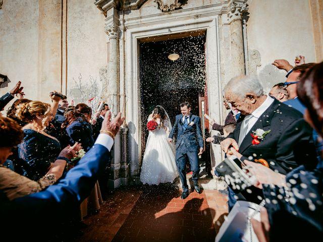 Il matrimonio di Dario e Morena a Taormina, Messina 82