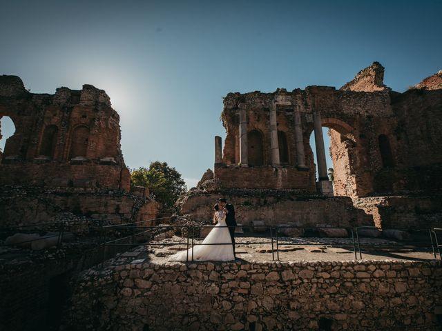 Il matrimonio di Dario e Morena a Taormina, Messina 85