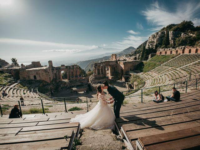 Il matrimonio di Dario e Morena a Taormina, Messina 86