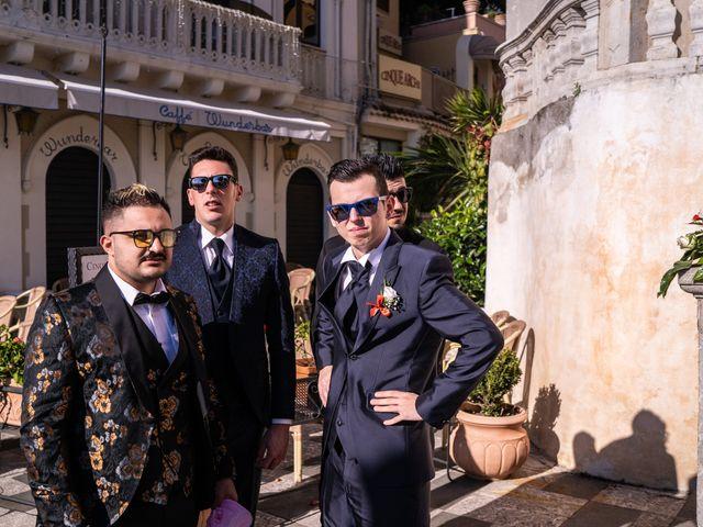 Il matrimonio di Dario e Morena a Taormina, Messina 117