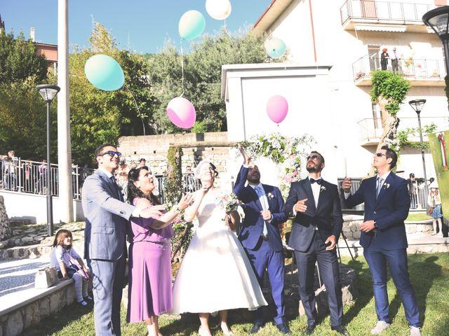 Il matrimonio di Tiziana e Vito  a Coreno Ausonio, Frosinone 39