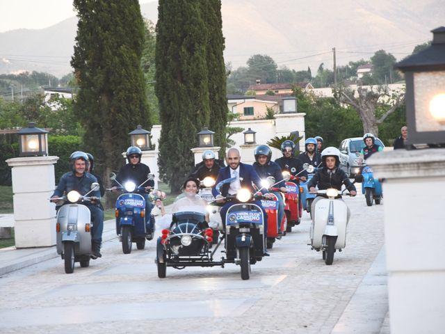 Il matrimonio di Tiziana e Vito  a Coreno Ausonio, Frosinone 44