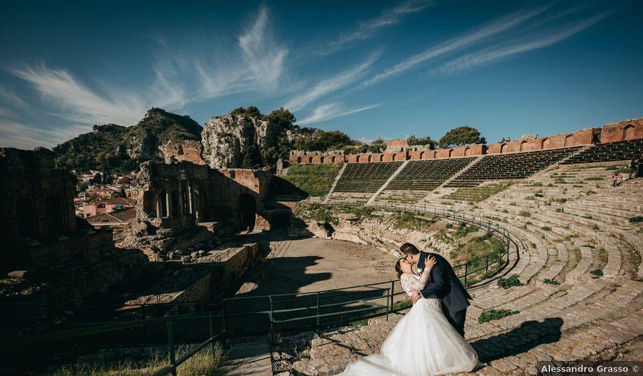 Il matrimonio di Dario e Morena a Taormina, Messina