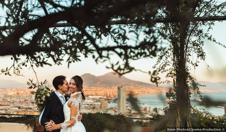 Il matrimonio di Antonio e Claudia a Napoli, Napoli