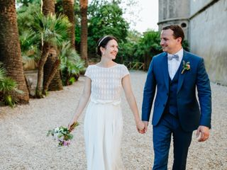 Le nozze di Stephanie e Bertrand