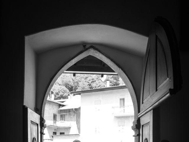 Il matrimonio di Carlo e Michela a Mezzana, Trento 12