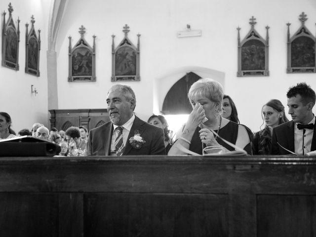 Il matrimonio di Carlo e Michela a Mezzana, Trento 16
