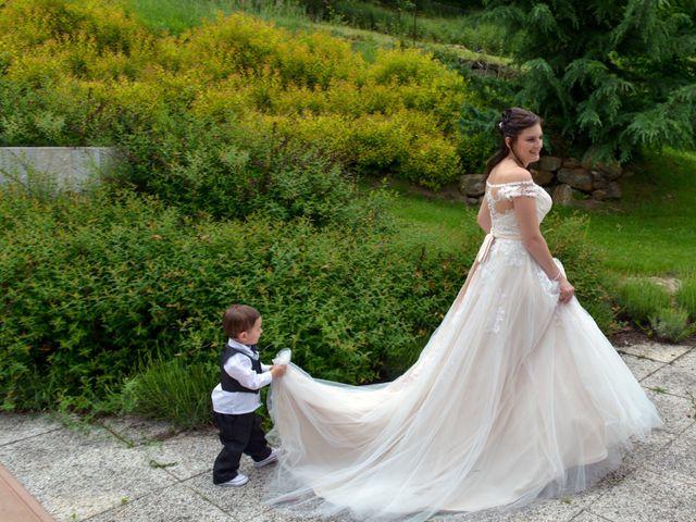 Il matrimonio di Carlo e Michela a Mezzana, Trento 35