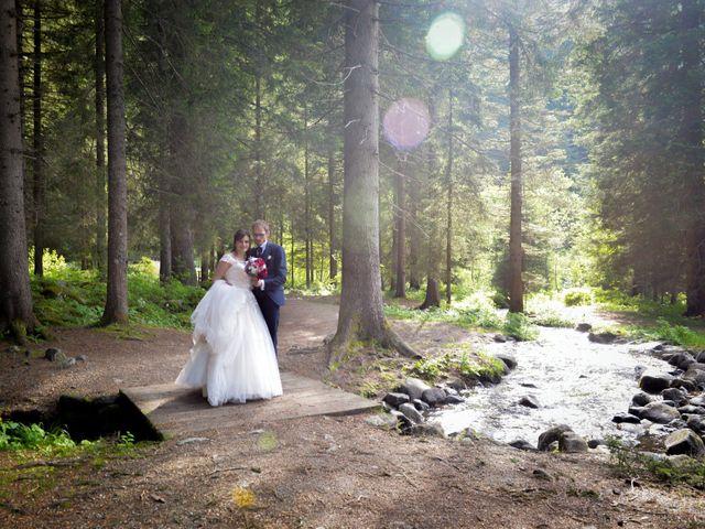 Il matrimonio di Carlo e Michela a Mezzana, Trento 41