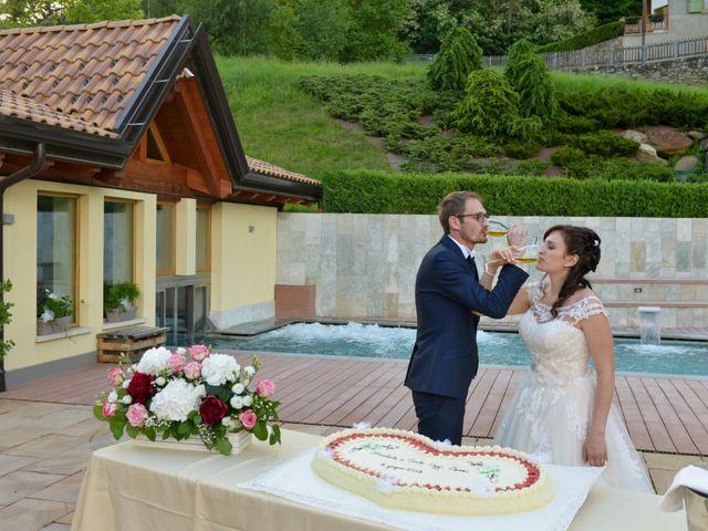Il matrimonio di Carlo e Michela a Mezzana, Trento 47