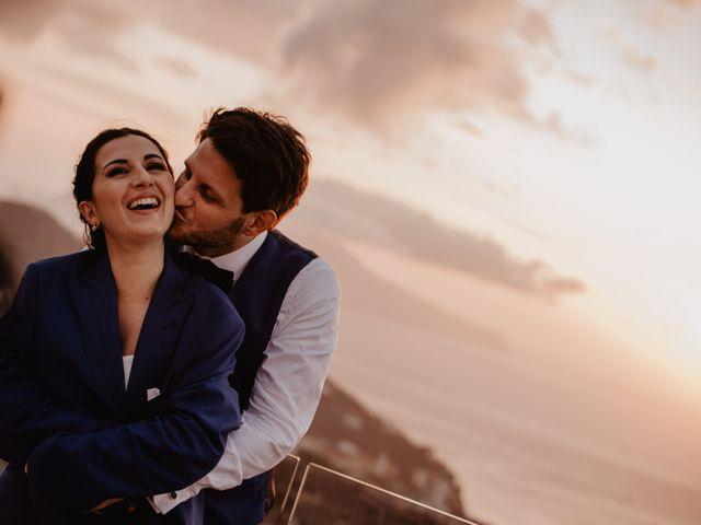 Il matrimonio di Eugenio e Antonia a Sorrento, Napoli 94