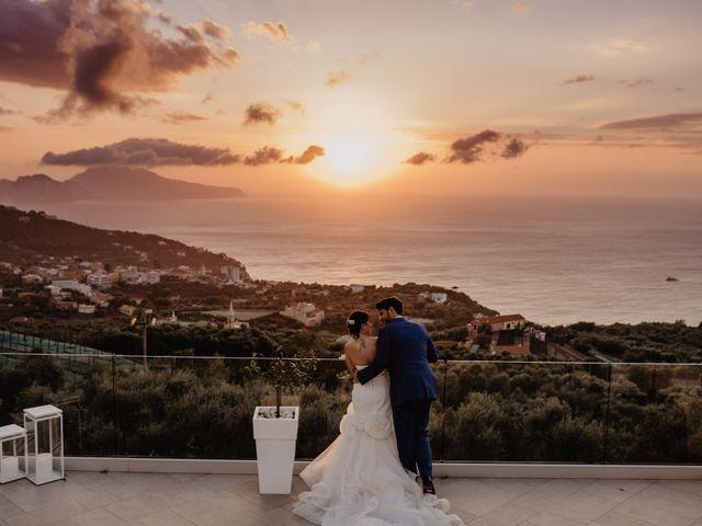 Il matrimonio di Eugenio e Antonia a Sorrento, Napoli 174