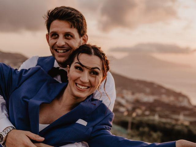 Il matrimonio di Eugenio e Antonia a Sorrento, Napoli 176