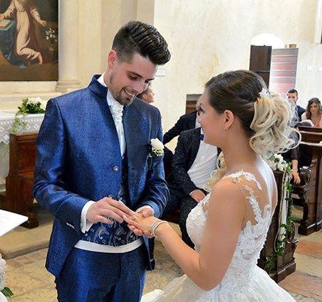 Il matrimonio di Damiano e Chaiana a Povegliano Veronese, Verona 12