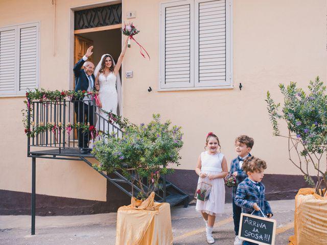 Il matrimonio di Gianluigi e Clara a Favara, Agrigento 29