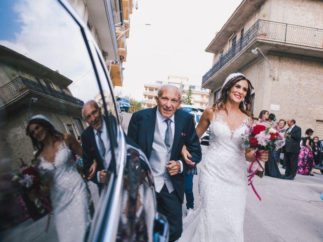 Il matrimonio di Gianluigi e Clara a Favara, Agrigento 31