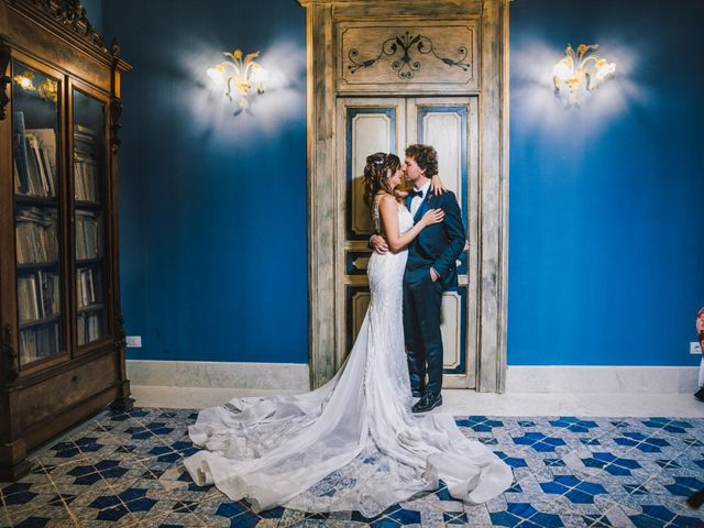 Il matrimonio di Gianluigi e Clara a Favara, Agrigento 59