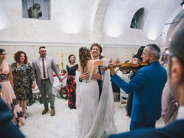Il matrimonio di Gianluigi e Clara a Favara, Agrigento 65
