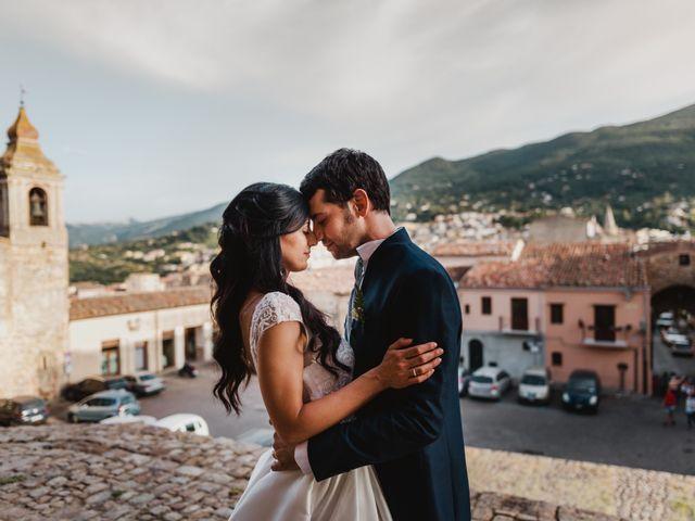 Il matrimonio di Nicoletta e Gaicomo a Castelbuono, Palermo 38