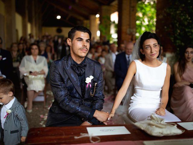 Il matrimonio di Matteo e Clarissa a Pavia, Pavia 32