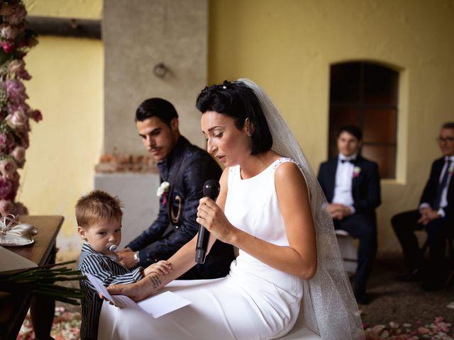 Il matrimonio di Matteo e Clarissa a Pavia, Pavia 34