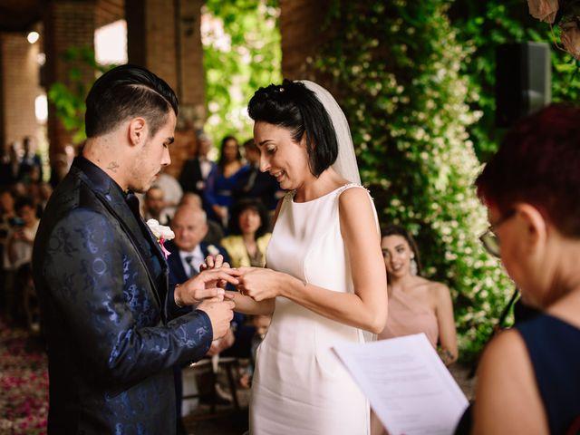 Il matrimonio di Matteo e Clarissa a Pavia, Pavia 39