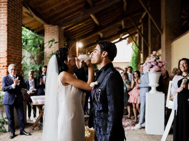 Il matrimonio di Matteo e Clarissa a Pavia, Pavia 43