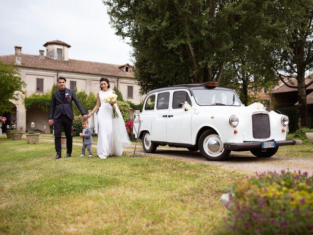 Il matrimonio di Matteo e Clarissa a Pavia, Pavia 46